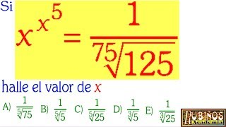 Examen de Admisión a la Universidad Ecuaciones Exponenciales CATÓLICA Solucionario Álgebra PUCP