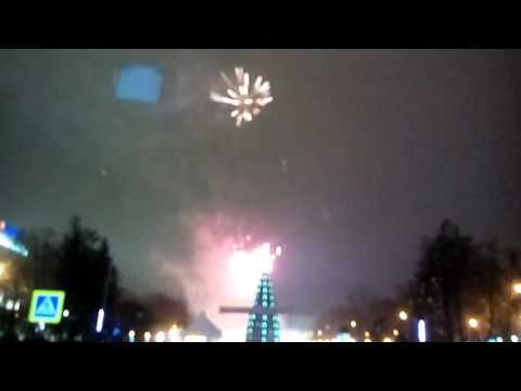 Новый год, 2017 пл. Горького, Нижний Новгород