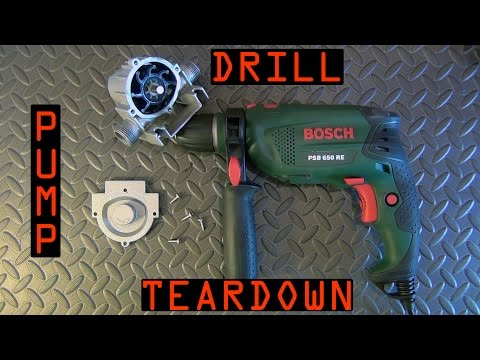 Drill Pump TEARDOWN !!!