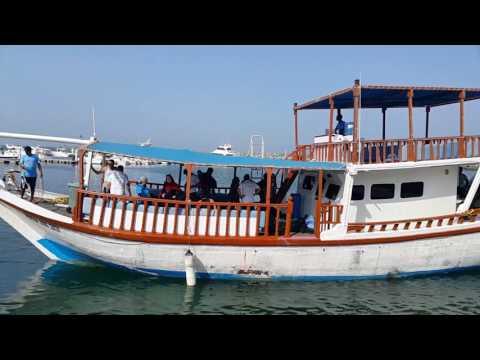 Diving Dhow returning back to Fujairah Marine Club Port 05.05.2017