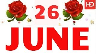 26 June Special New Birthday Status Video , happy birthday wishes, birthday msg quotes जन्मदिन