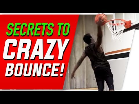 Secret Keys to Getting CRAZY Bounce: Vertical Jump Training Drills and Techniques