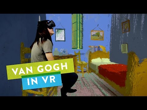 """For All You Art History Buffs, """"Bedroom in Arles"""" in VR! 