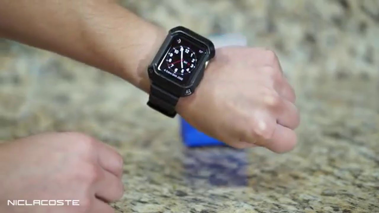more photos 92b8f baef5 Supcase Unicorn Beetle Pro Apple Watch 42mm Case Review + Installation 2015