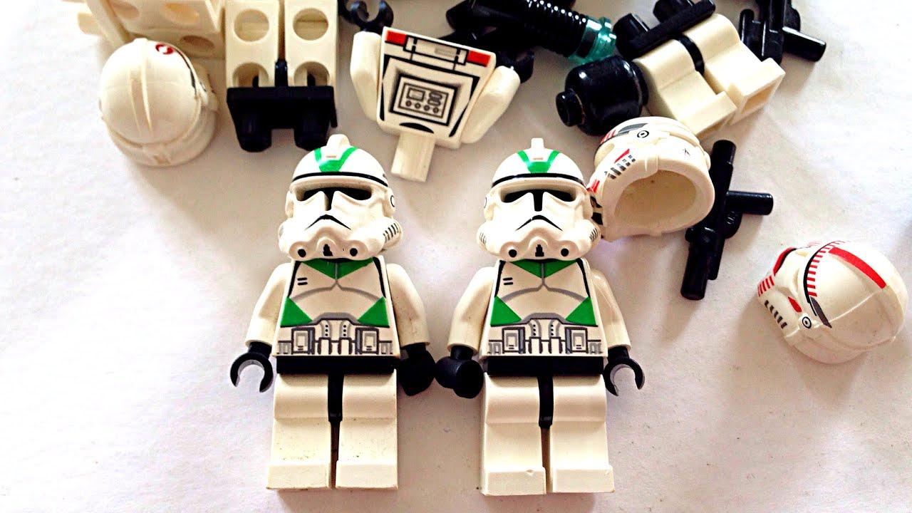 lego star wars haul - ebay - two 442nd siege battalion clone