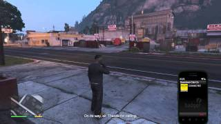 Grand Theft Auto V Cops after me because i was calling for a cab