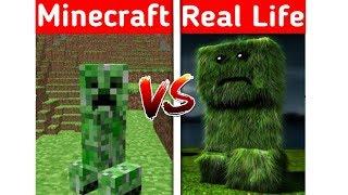 Real Life Minecraft Creeper