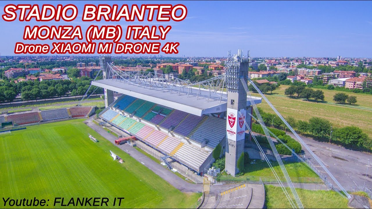 Stadio Brianteo Monza Football Stadium Estate 2018 Drone Xiaomi Mi Drone 4k Youtube