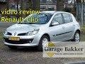 Video review Renault Clio 1.6 16v Dynamique, 2006, 18-XX-NP