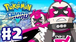 Pokemon Sword and Shield - Gameplay Walkthrough Part 2 - Team Yell at Motostoke! (Nintendo Switch)