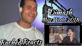 Coach Reaction - Dimash - Miss World 2018