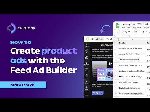 How To Create Product Ads with the Feed Ad Builder
