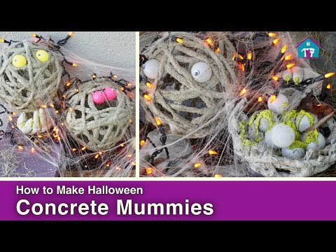 How to Make a Concrete Mummy