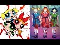 The Powerpuff Girl Characters As Monsters | All Characters 2017