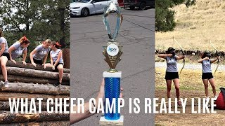 THE REALITY OF CHEER CAMP