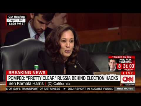 Sen. Kamala Harris questions Pompeo on climate change, part II