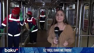 52 yaşlı Bakı metrosu