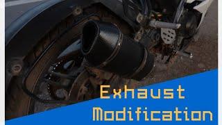 R15 V2 Custom Exhaust