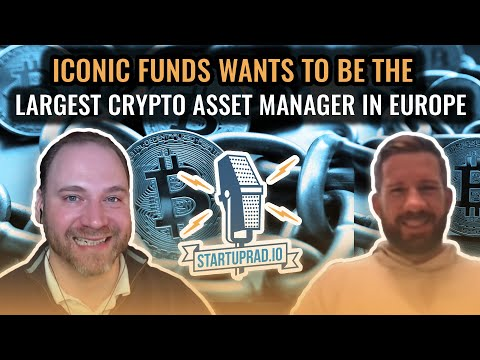 Iconic Funds Wants to Be The Largest Crypto Asset Manager in Europe
