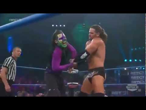 Jeff Hardy vs. James Storm TNA iMPACT 7 5 12
