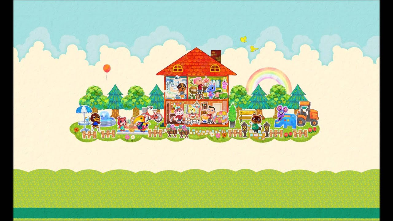 animal crossing happy home designer sample music youtube