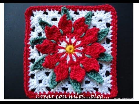 Crochet Patterns For Free Crochet Blanket Squares 2261 Youtube