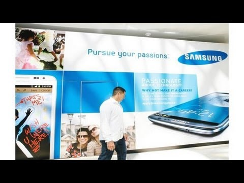 First Samsung Store Opening - Metro Town Vancouver BC