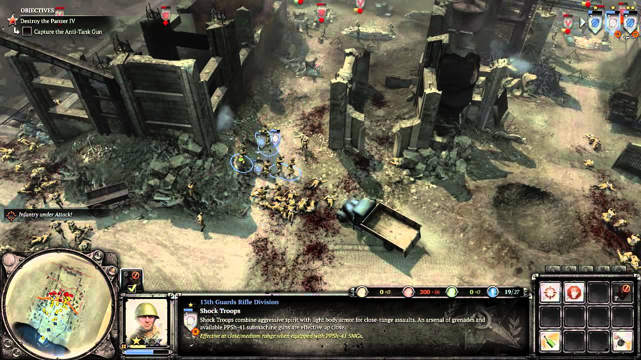 Company Of Heroes 2 Campaign Mission 1 Stalingrad Rail Station