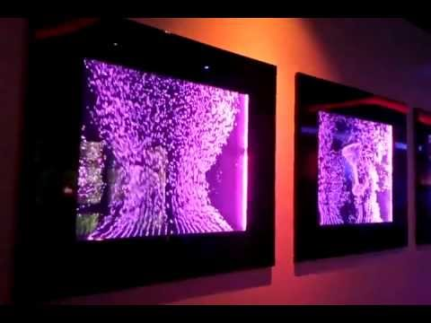 Bild Wasserwand LOA-Wanddesign - YouTube