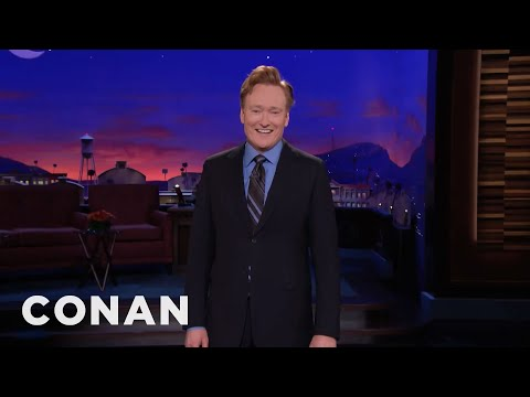Conan: Last Time I Was On TV, I Had To Get Permission To Say The Word