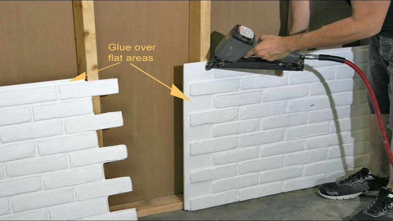 Installation Instructions Faux Brick Panels Antico