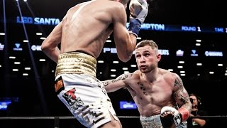 CARL FRAMPTON VS. LEO SANTA CRUZ FULL POST-FIGHT INTERVIEW; FRAMPTON GETS DECISION AFTER WAR