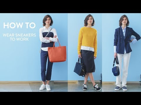 How to Wear Sneakers to Work | Nordstrom
