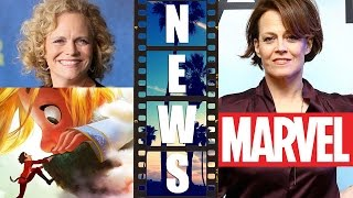 Meg lefauve co-director disney's gigantic, sigourney weaver to join marvel cinematic universe?