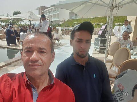 M.R Taoujni : je suis ému et honoré     كل الشرف لي معرفت السيد رضا