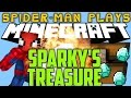 Spider-Man Play's Minecraft - SPARKY'S TREASURE!