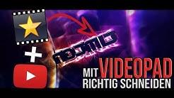 Mit VIDEOPAD richtig schneiden! (Deutsch/German)