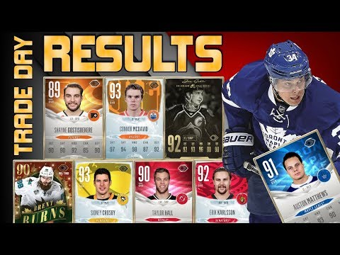 RESULTS! - 1 Million Coin Trade Day - NHL 18