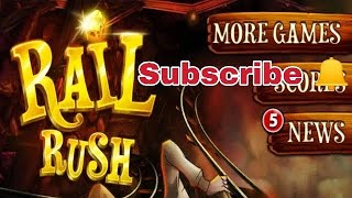 🚂Rail rush🔥 awesome android game || by dsp