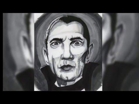 Dracula Time Laps Drawing