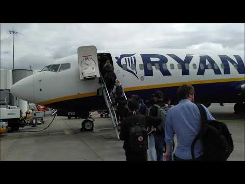 KN Flight Review - RyanAir (Manchester To Gothenburg)