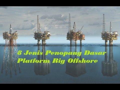 8 Jenis Penopang Dasar Platform Rig Offshore