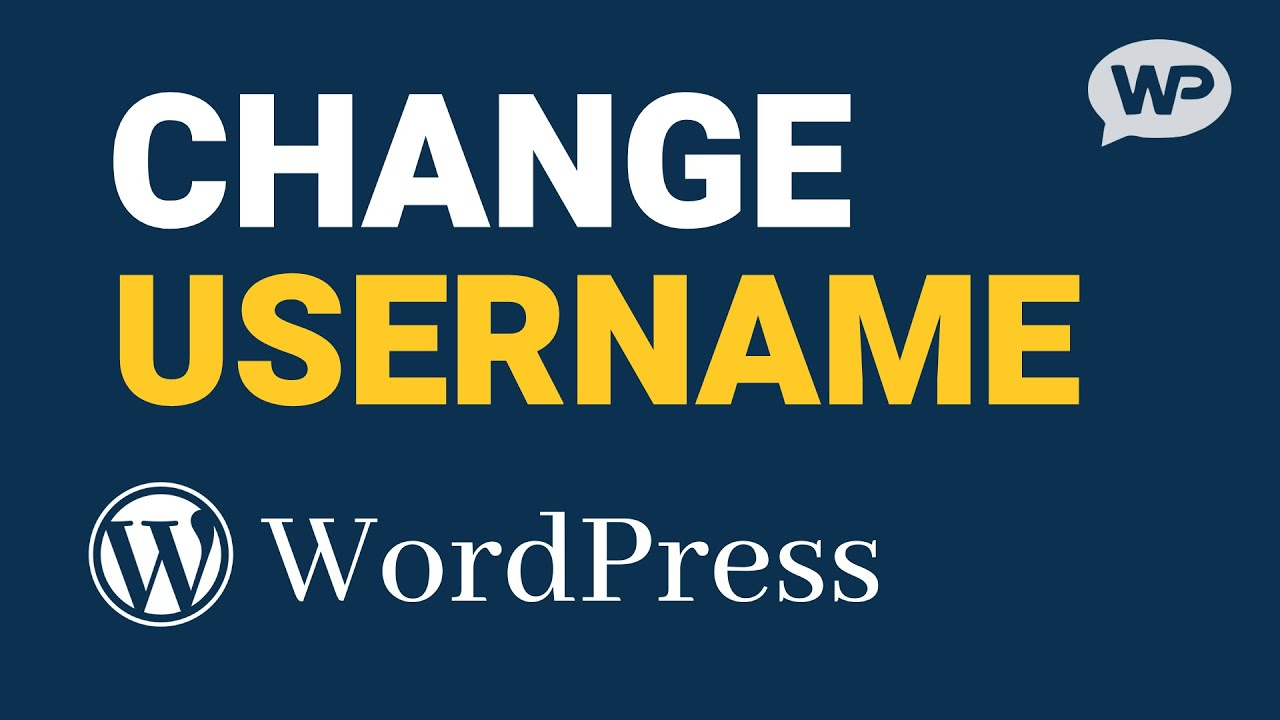 How to Change WordPress Username (Super Simple!)