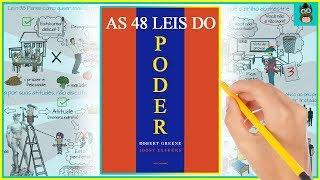 AS 48 LEIS DO PODER | Robert Greene | Resumo animado