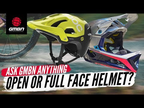 Open Or Full Face MTB Helmet? | Ask GMBN Anything About Mountain Biking