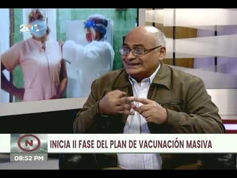 Nueva fase de vacunación en Venezuela será regido por el sistema Patria