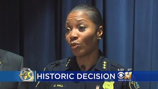 1st Female Chief Chosen To Lead Dallas Police Department