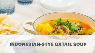 Indonesian Stye Oxtail Soup