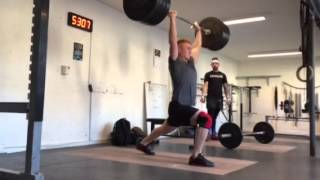 "Clean & Jerk: 125 x 1 rep by Philip ""The Gift"" Thun Bisgaard"
