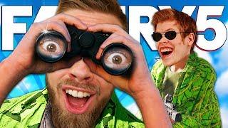 LETAR EFTER ETT STULET FLYGPLAN | Far Cry 5 Co-op med STAMSITE #32